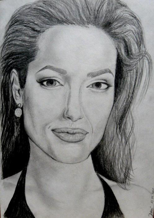 Angelina Jolie by Deny